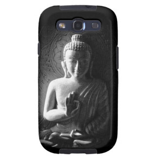 Monochrome Carved Buddha Samsung Galaxy SIII Covers