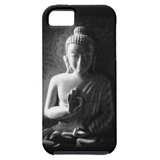 Monochrome Carved Buddha iPhone 5 Case