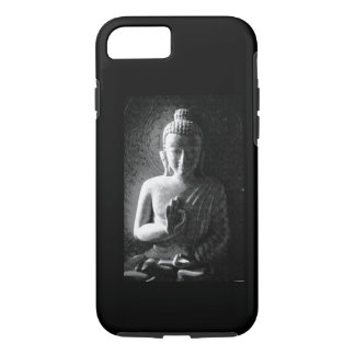 Monochrome Carved Buddha iPhone 8/7 Case