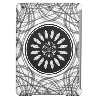 Monochrome center iPad air cover