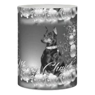 Monochrome Christmas Candles