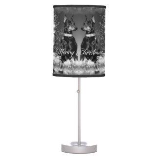 Monochrome Christmas Lamp