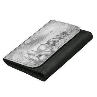 Monochrome Christmas Theme Purse / Wallet