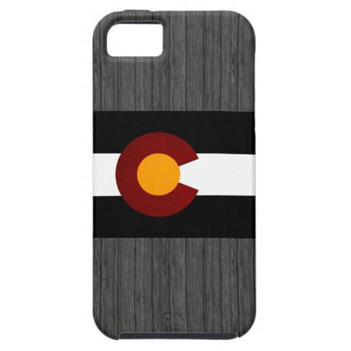 Monochrome Colorado Flag iPhone 5 Case