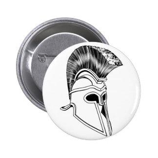 Monochrome Corinthian helmet Pins