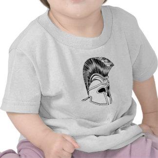 Monochrome Corinthian helmet T-shirt