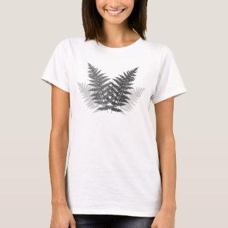 Monochrome Ferns T-Shirt