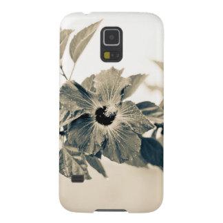 Monochrome Flower Galaxy S5 Case