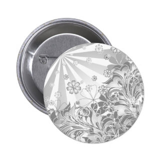 monochrome flowers pin