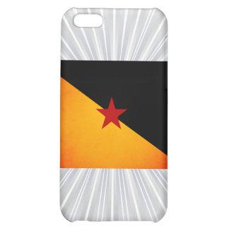 Monochrome French Guiana Flag iPhone 5C Case
