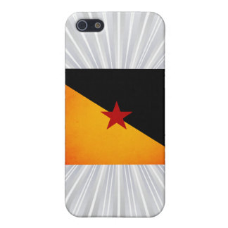Monochrome French Guiana Flag Covers For iPhone 5