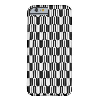 Monochrome Geometric Pattern Barely There iPhone 6 Case