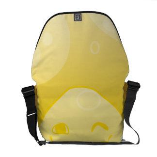 Monochrome Happyness! Messenger Bags