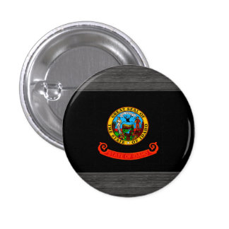 Monochrome Idaho Flag Buttons