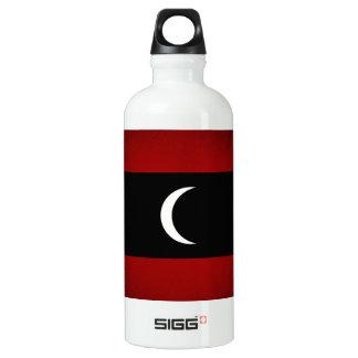 Monochrome Maldives Flag Water Bottle