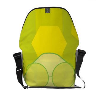 Monochrome Nerd! Messenger Bag