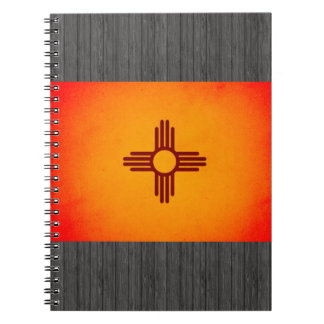 Monochrome New Mexico Flag Notebook