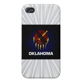 Monochrome Oklahoma Flag iPhone 4 Cover