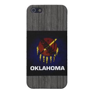Monochrome Oklahoma Flag Cover For iPhone 5