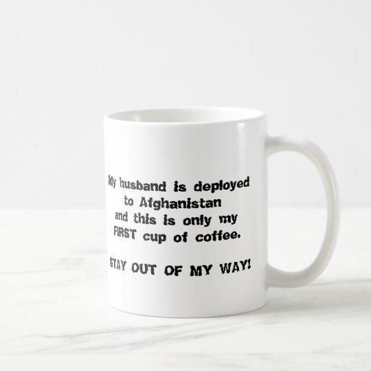 Monochrome OUT FRONT Coffee Mug