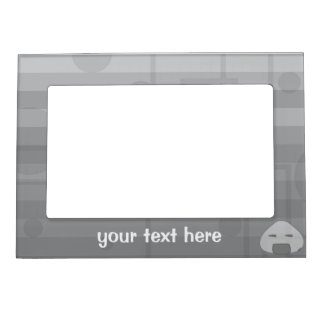 Monochrome Pain Magnetic Picture Frame