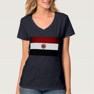 Monochrome Paraguay Flag T-Shirt