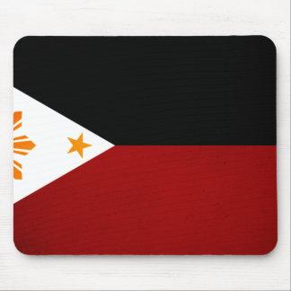 Monochrome Philippines Flag Mouse Pad