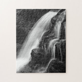 Monochrome Poconos Waterfall Puzzles