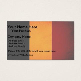 Monochrome Romania Flag Business Card