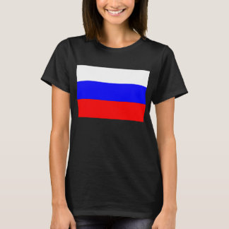Monochrome Russia Flag T-Shirt