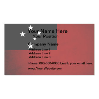 Monochrome Samoa Flag Double-Sided Standard Business Cards (Pack Of 100)
