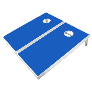Monochrome, Solid BLUE Cornhole Set