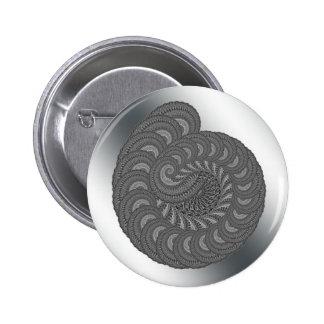 Monochrome Spiral Graphic. Pin