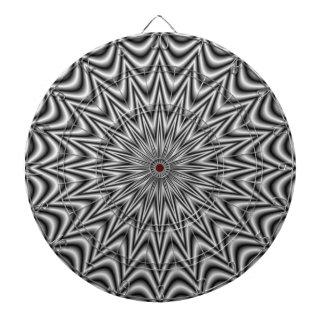 Monochrome Star Dartboard