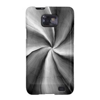 Monochrome Swirl Galaxy S Galaxy SII Case