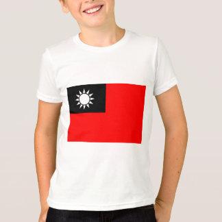 Monochrome Taiwan Flag T-Shirt
