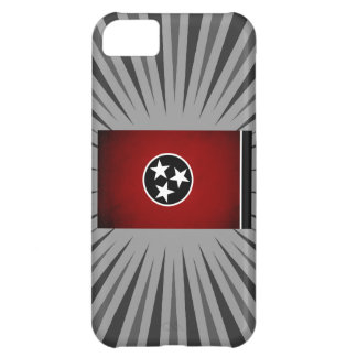 Monochrome Tennessee Flag Case For iPhone 5C