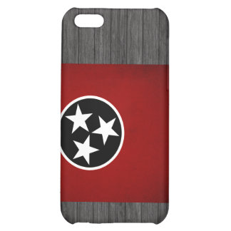 Monochrome Tennessee Flag Cover For iPhone 5C