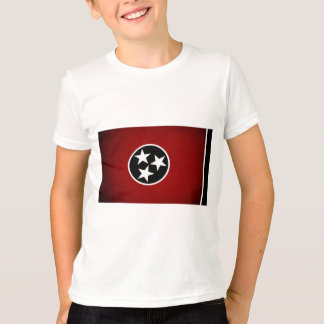 Monochrome Tennessee Flag T-Shirt