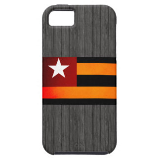 Monochrome Togo Flag iPhone 5 Case