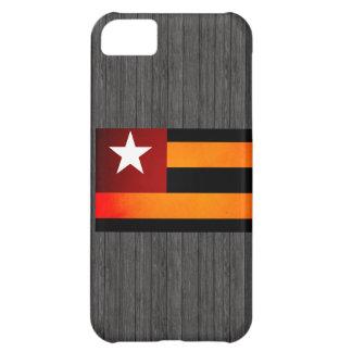 Monochrome Togo Flag Case For iPhone 5C