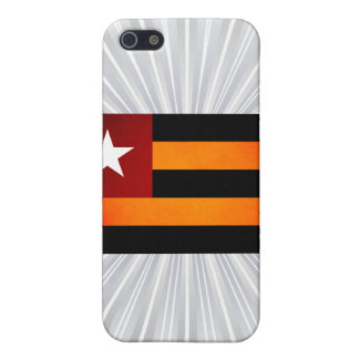 Monochrome Togo Flag iPhone 5 Covers