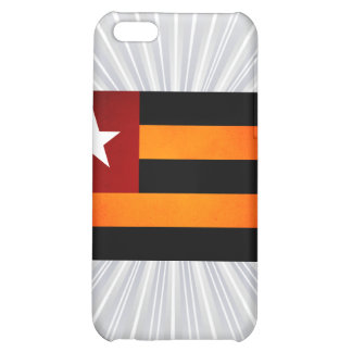 Monochrome Togo Flag iPhone 5C Cover