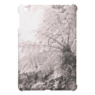 Monochrome Tree Fern Cover For The iPad Mini