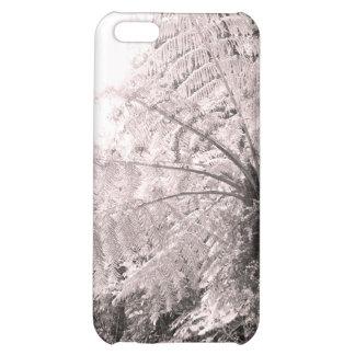 Monochrome Tree Fern iPhone 5C Case