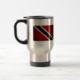 Monochrome Trinidad and Tobago Flag Coffee Mug