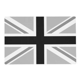 Monochrome Union Flag/Jack Design Placemat