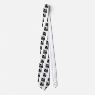 Monochrome view of the dirty water flows tie