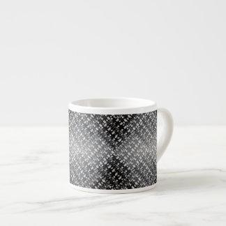 Monochrome Weave 6 Oz Ceramic Espresso Cup