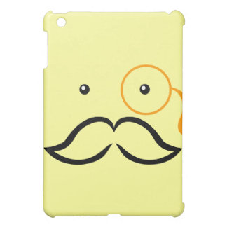 Monocle and Mustache Case For The iPad Mini